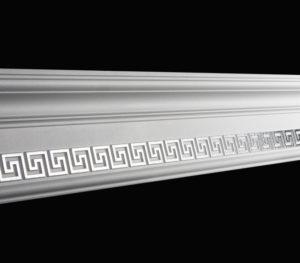 Купить Плинтус потолочный GP-30 Silver 2м