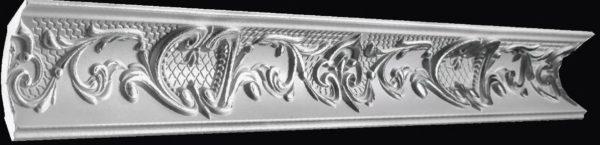 Купить Плинтус потолочный GP-13 Silver