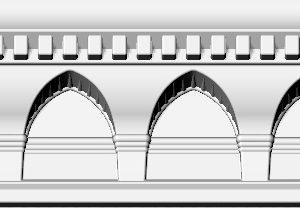 Купить Плинтус потолочный GP-17 2м