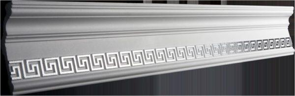 Купить Плинтус потолочный GP-24 Silver