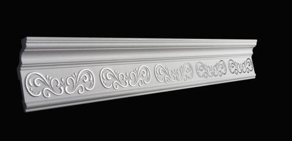 Купить Плинтус потолочный GP-25 Silver