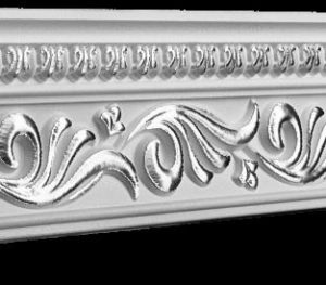 Купить Плинтус потолочный GP-29 Silver