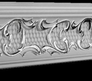 Купить Плинтус потолочный GP-30 Silver