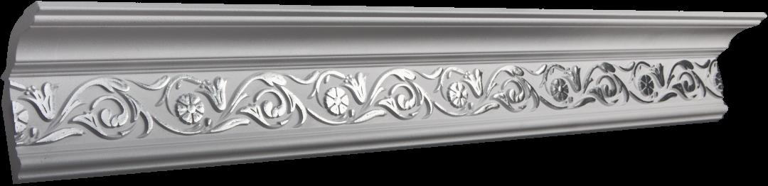 Купить Плинтус потолочный GP-4 Silver