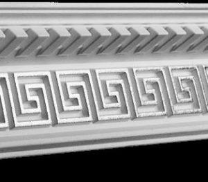 Купить Плинтус потолочный GP-55 Silver