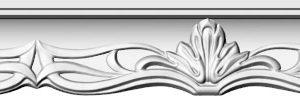 Купить Плинтус потолочный GP-66 2м